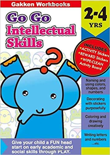 Go Go Intellectual Skills 2-4 (Gakken Workbooks)