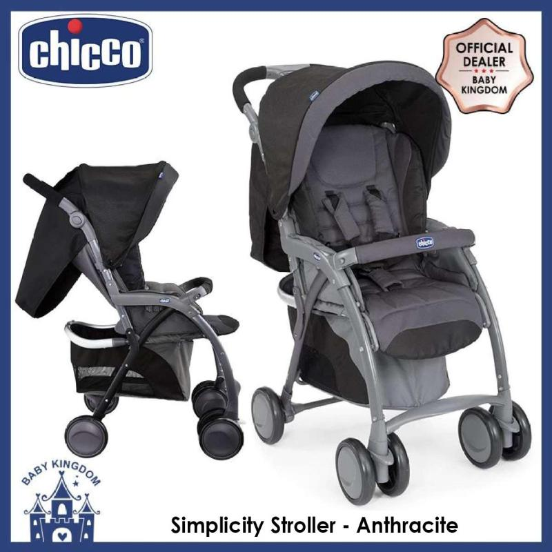 Chicco Simplicity Stroller (Red / Anthracite) Singapore