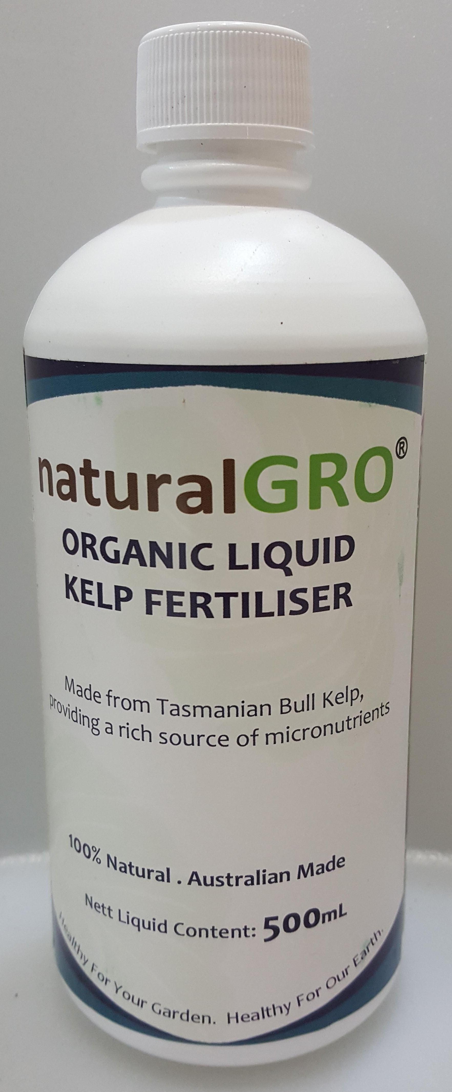 naturalGRO Organic Liquid Kelp Fertiliser 500mL
