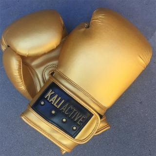Đầm Ở Cửa Hàng Giảm Giá Kali Active Kinh Điển Một Màu Dòng Flash Vàng Vận Động Chuyên Nghiệp Boxing Găng Tay thumbnail
