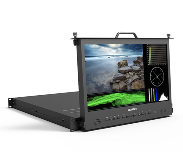 (pre-order)LILLIPUT RM-1730S -17.3 inch Pull-out rackmount monitor