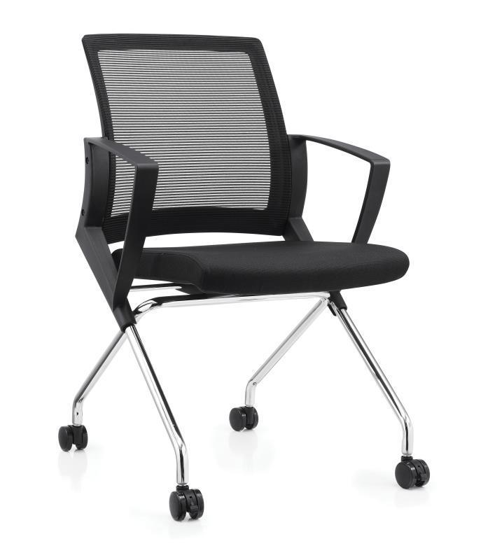 UMD PU Leather /Mesh Fabric Foldable Chair Conference Room Chair Training Chair Office Chair K510 Singapore