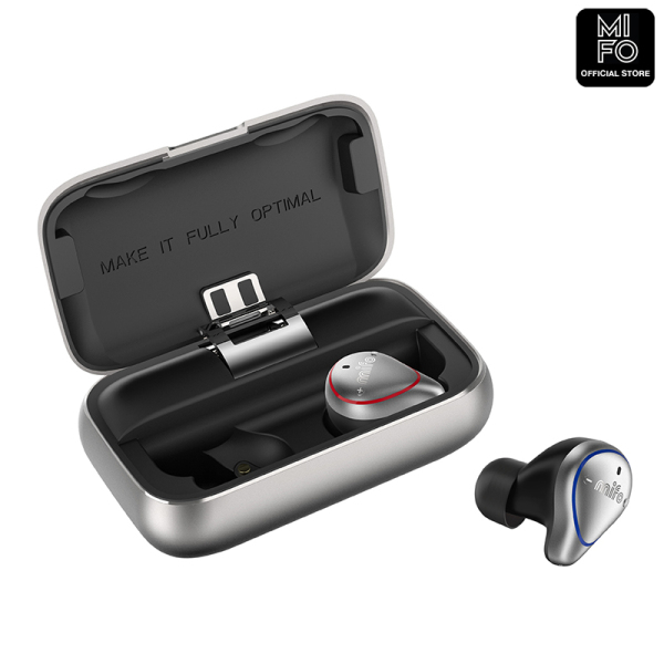 Mifo O5 TWS Bluetooth Stereo Earbuds True Wireless Earbuds Bluetooth 5.0 IPX7 Passive Noise Cancelling Standard Version Singapore