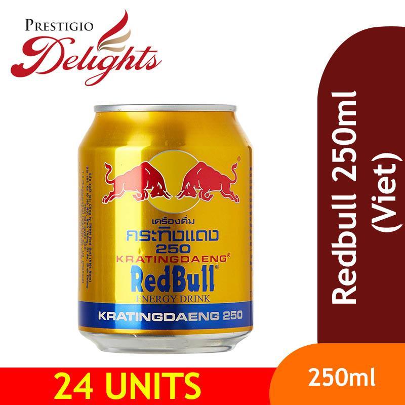 Redbull 250ml (viet) Bundle Of 24 By Prestigio Delights.