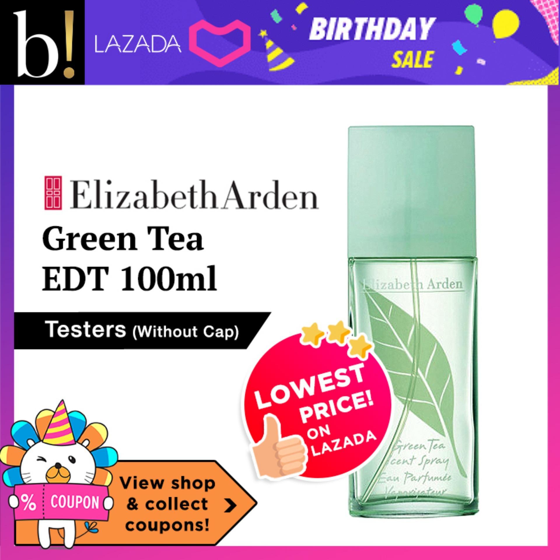 Elizabeth Arden Green Tea EDT 100ml [Tester without cap] - Beureka [Luxury Beauty