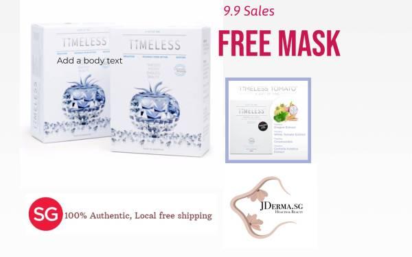 Buy [Buy 1 Get 1 Free]Timeless Tomato Whitening Pill PLUS Free Timeless Mask Singapore