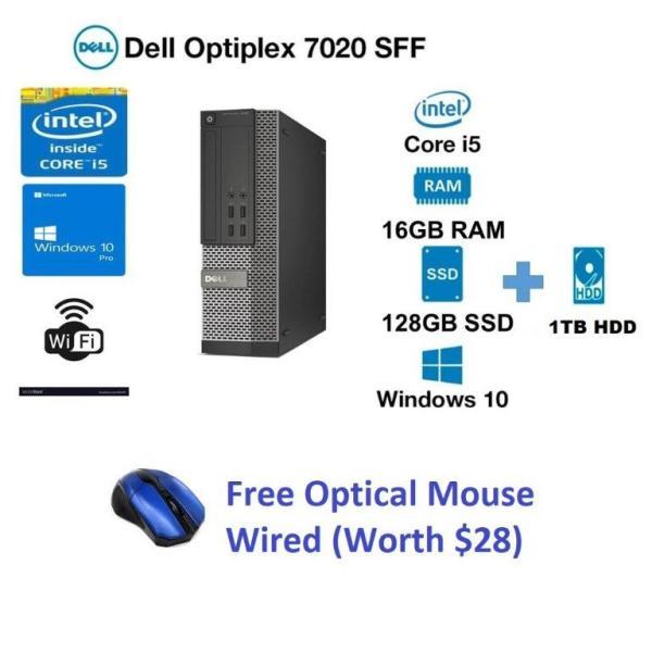 Dell OptiPlex 7020 Desktop SFF, i5 4th Gen 8gb Ram 500GB HDD WIN10 Pro , MS Office, Free WIFI Dongle (Refurbished)
