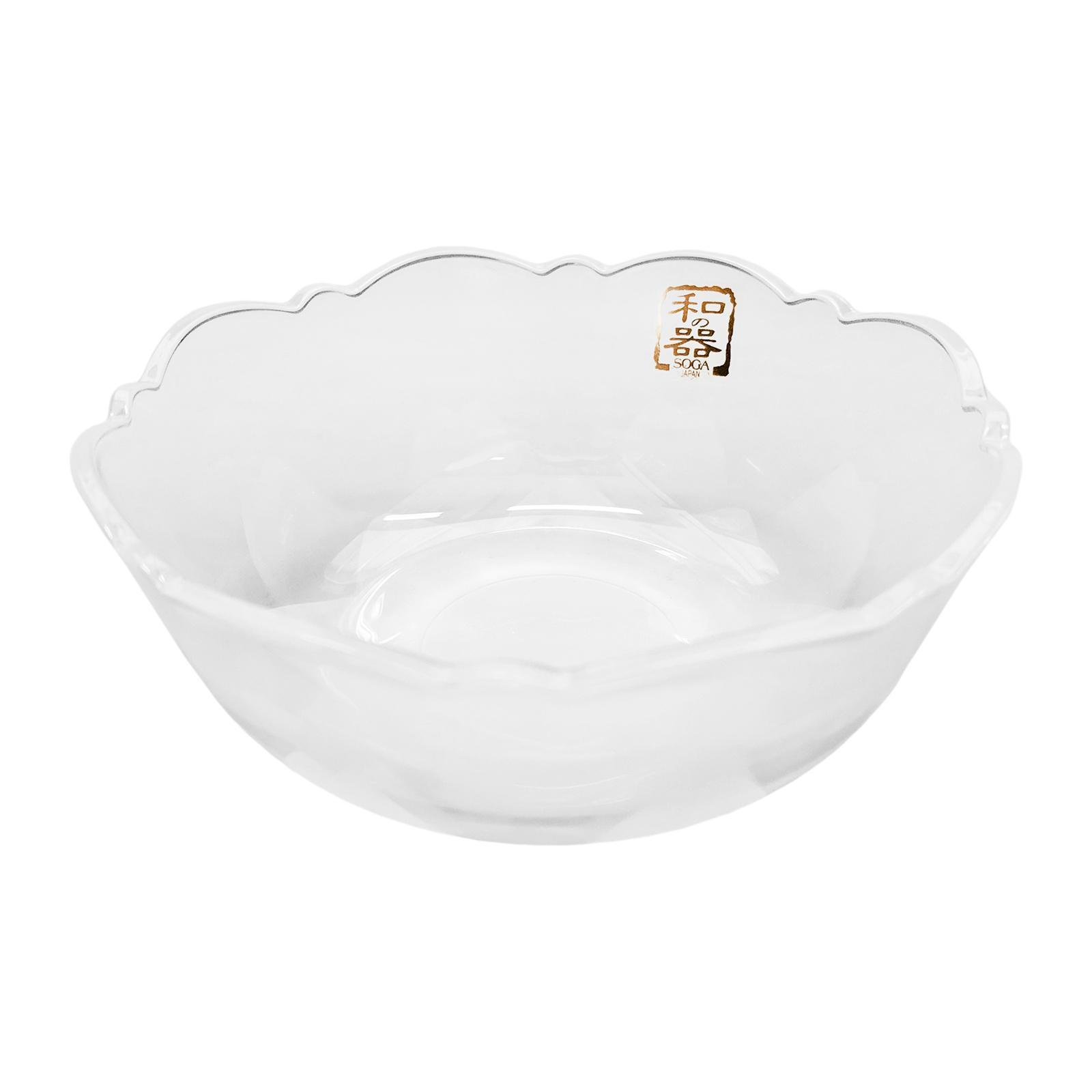 Soga Yume Glass Bowl 5 6-PCS Set