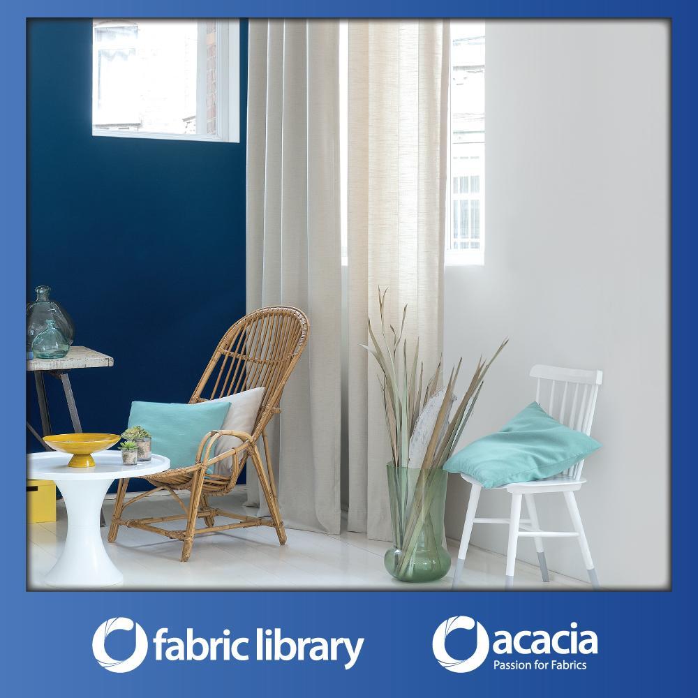 Fabric Library (Ipanema) 30 x 102 Window/Sliding Door French Pleat Curtain - Ipanema x 1 Panel