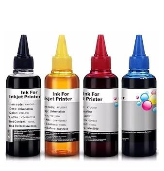 Full Set Refillable 100ml Universal Ink Bottle For Inkjet Printers Brother / Canon / Epson / Hp By Plan B.