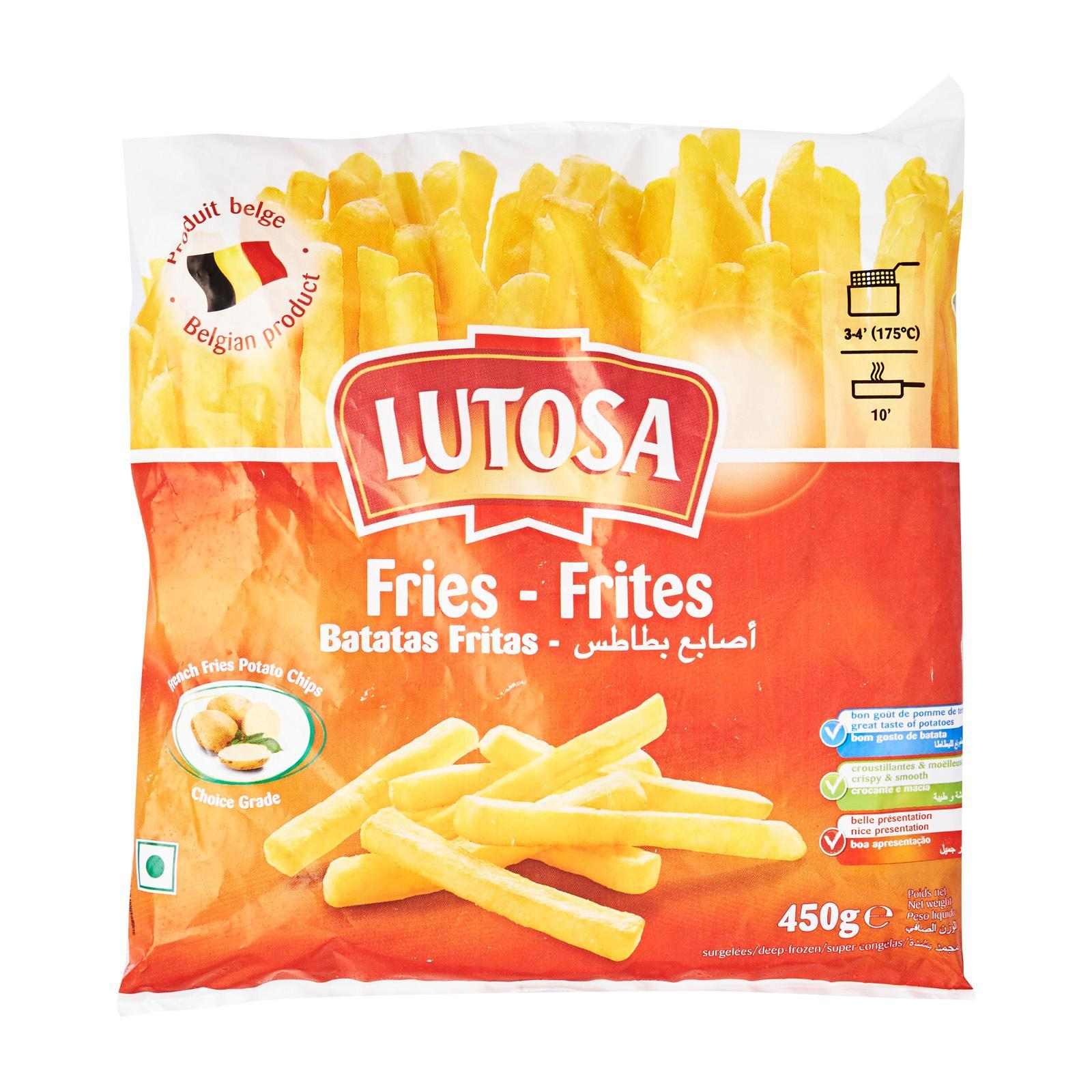 LUTOSA Straight Cut French Fries - Frozen