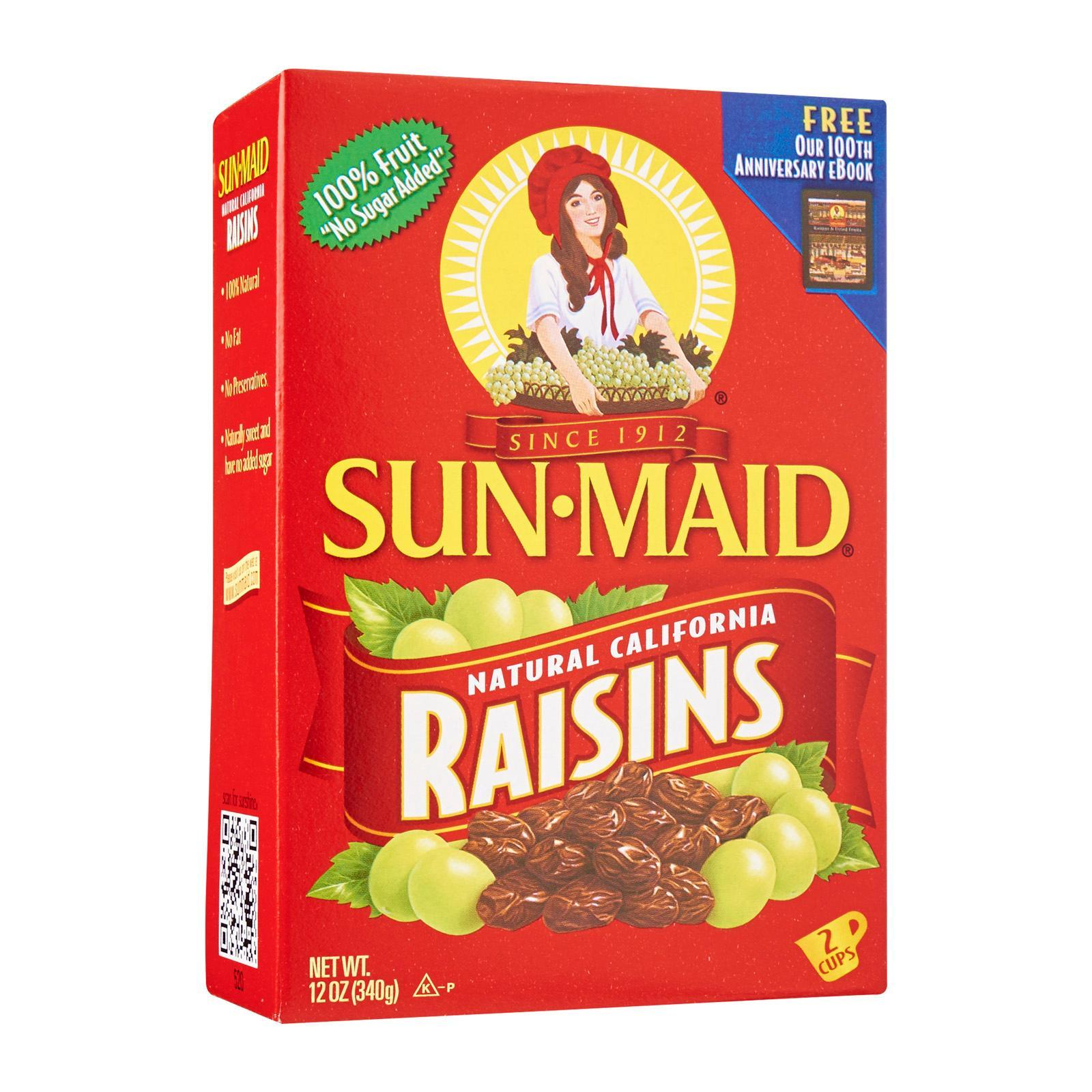 Sun-Maid Box Of Natural California Raisins