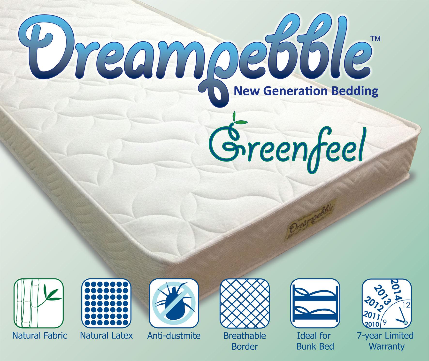 GreenFeel 4 Latex Foam Mattress