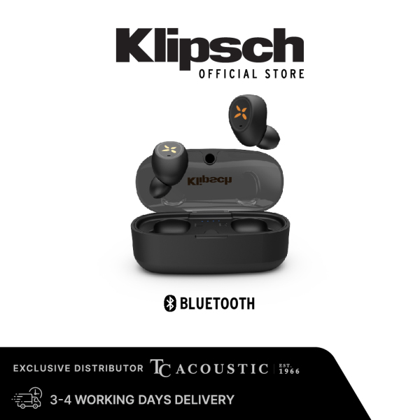 Klipsch S1 True Wireless Earbuds With Microphone (Includes Free Wireless Charging Pad) Singapore