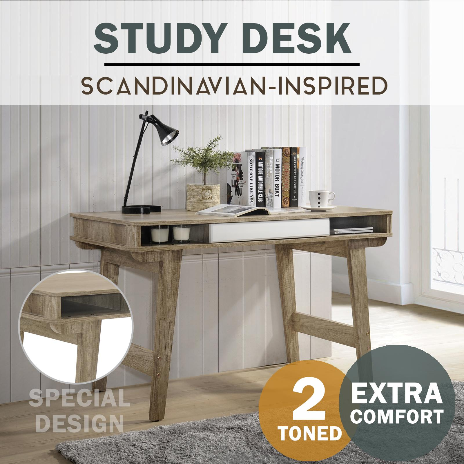 [Free Installation] SO Cevo 4ft / 1.2m Study Desk / Writing Table / Computer Table