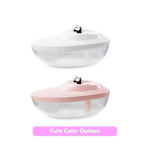 #72 REMAX CAT CAPTAIN HUMIDIFIER - PINK/WHITE Singapore