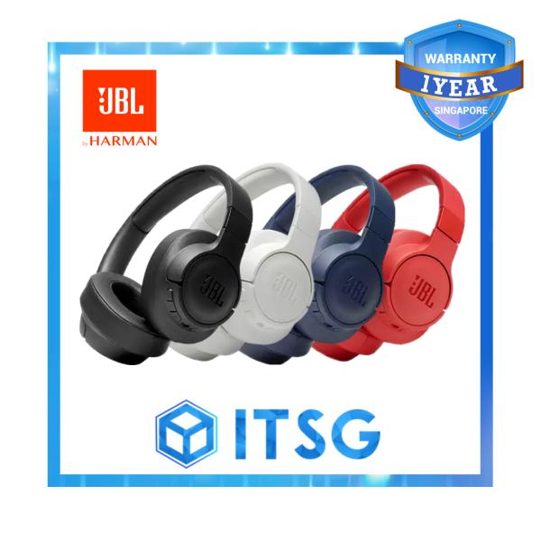 JBL TUNE 750BTNC Wireless Over-Ear Noise Cancelling Headphones Singapore