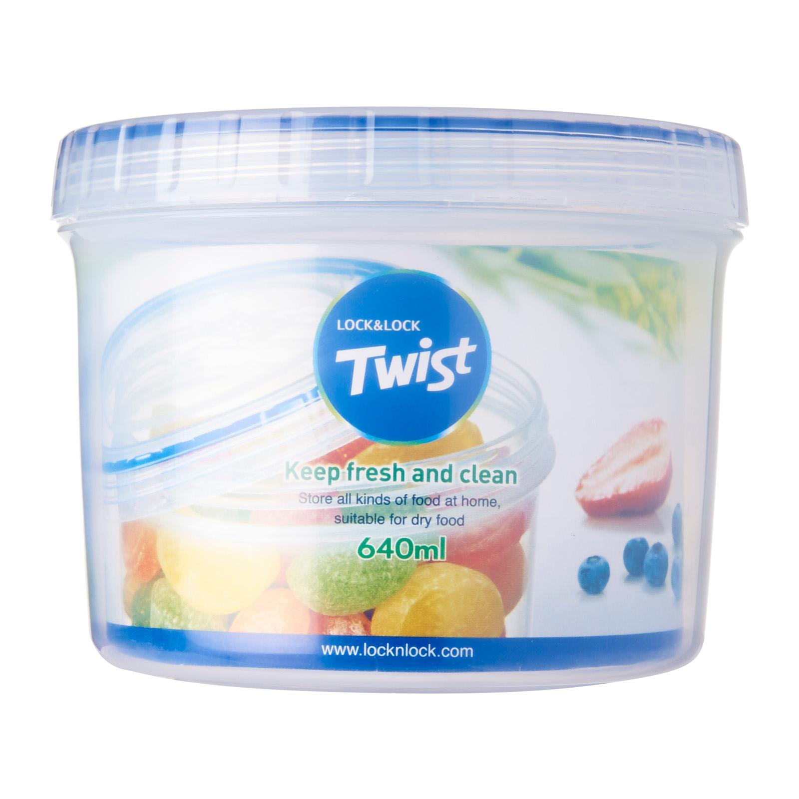 Lock and Lock Twist Container 640ML