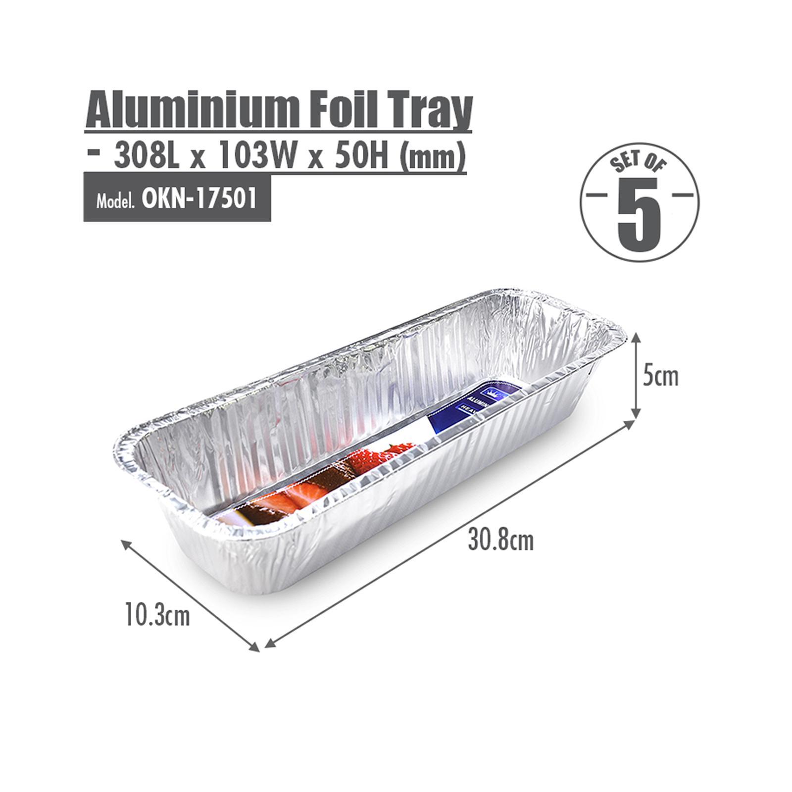 HOUZE Aluminium Foil Tray - Set of 5