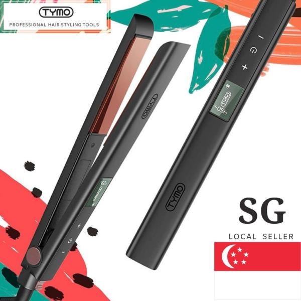 Buy TYMO Titanium Hair Straightening Iron 1 inch Flat Iron for Hair with Superior Titanium 3D Floating Plate Customized 16 Heat Settings (80°C-230°C) Straightener and Curler 2 In 1 Fast Heat Digital Touch Panal All Hair Type Curly Wavy Frizz Free Singapore Singapore