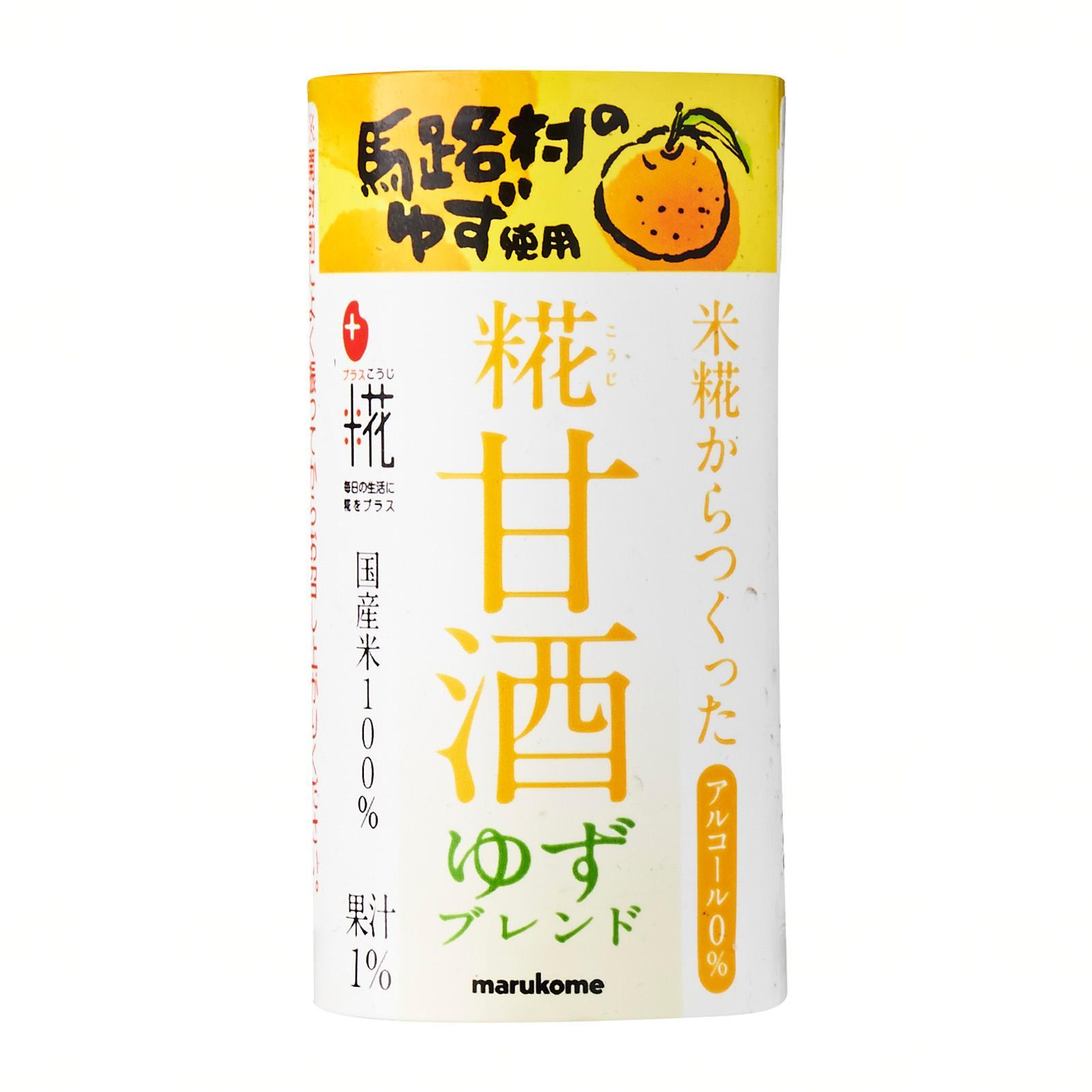 Marukome Yuzu Blended Amazake Drink - Jetro Special