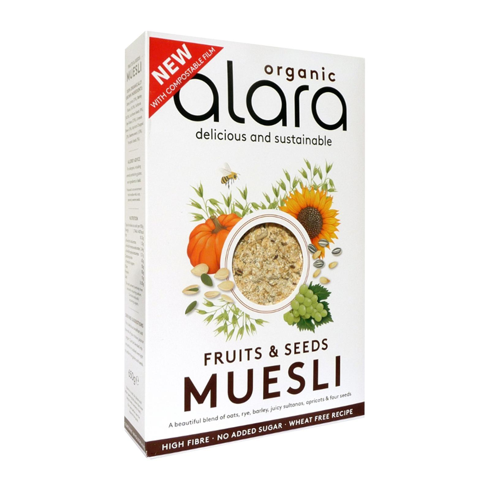 Alara Organic Fruits and Seeds Muesli