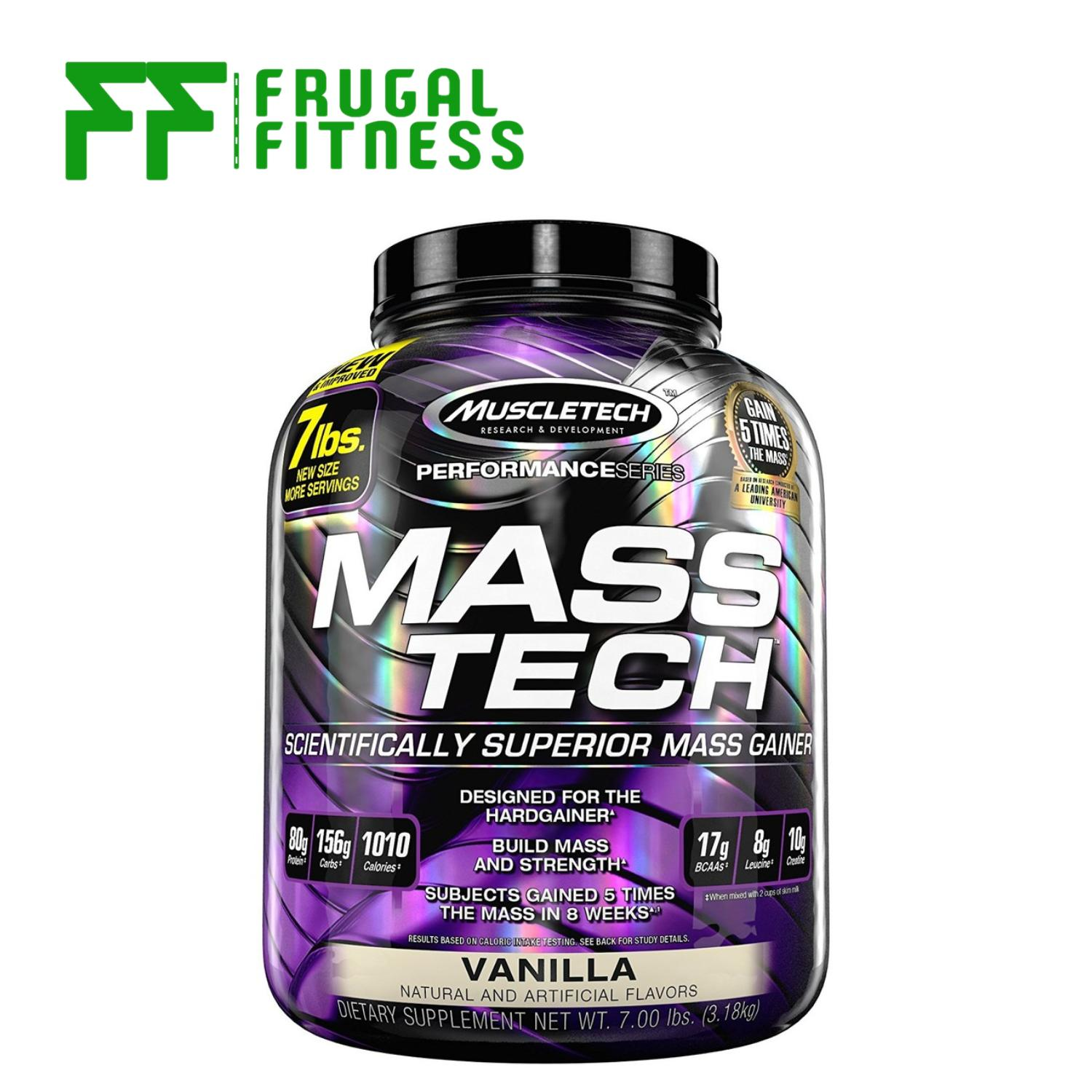 Muscletech Masstech 7lbs [various Flavors] By Frugal Fitness.