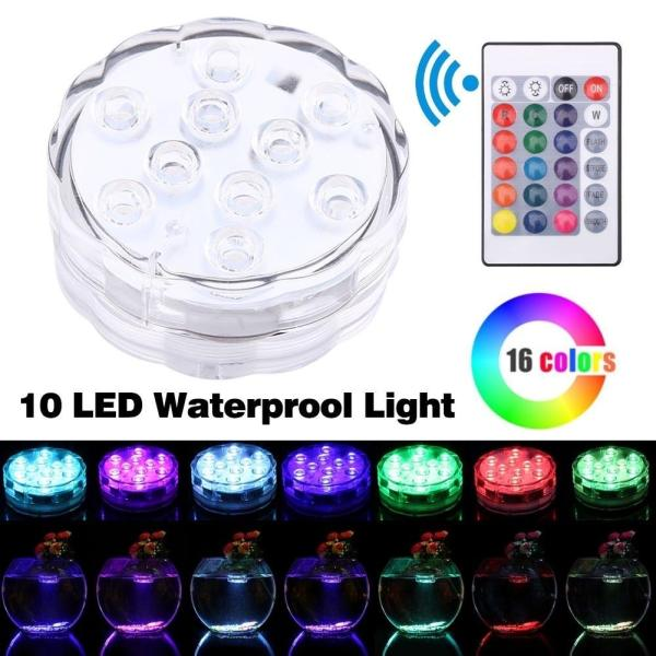 Multicolor Waterproof Light RGB for Vase Wedding Party