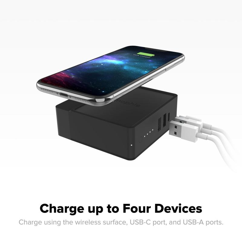 Mophie Powerstation Global Hub with Adapters (6,000mAh)