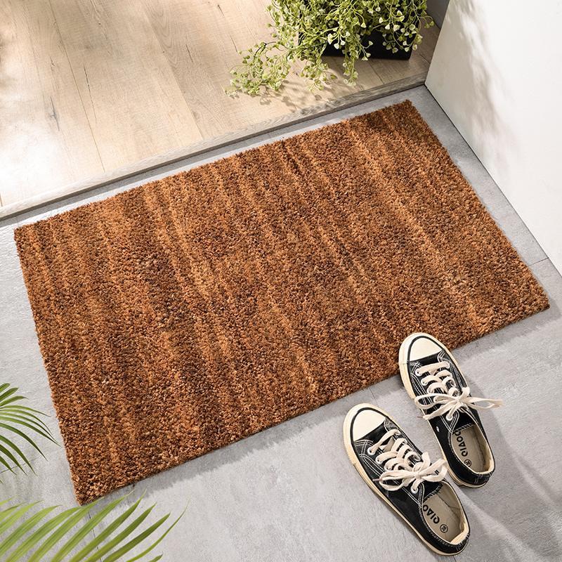 Natural Coconut Palm Doorway Mat Exterior Door Pad Door Beginner Household Coaster Outdoor Door Mat Entrance Door Mat