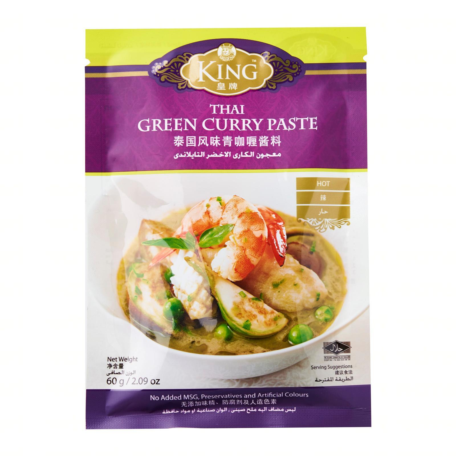 King Thai Green Curry Paste By Redmart.