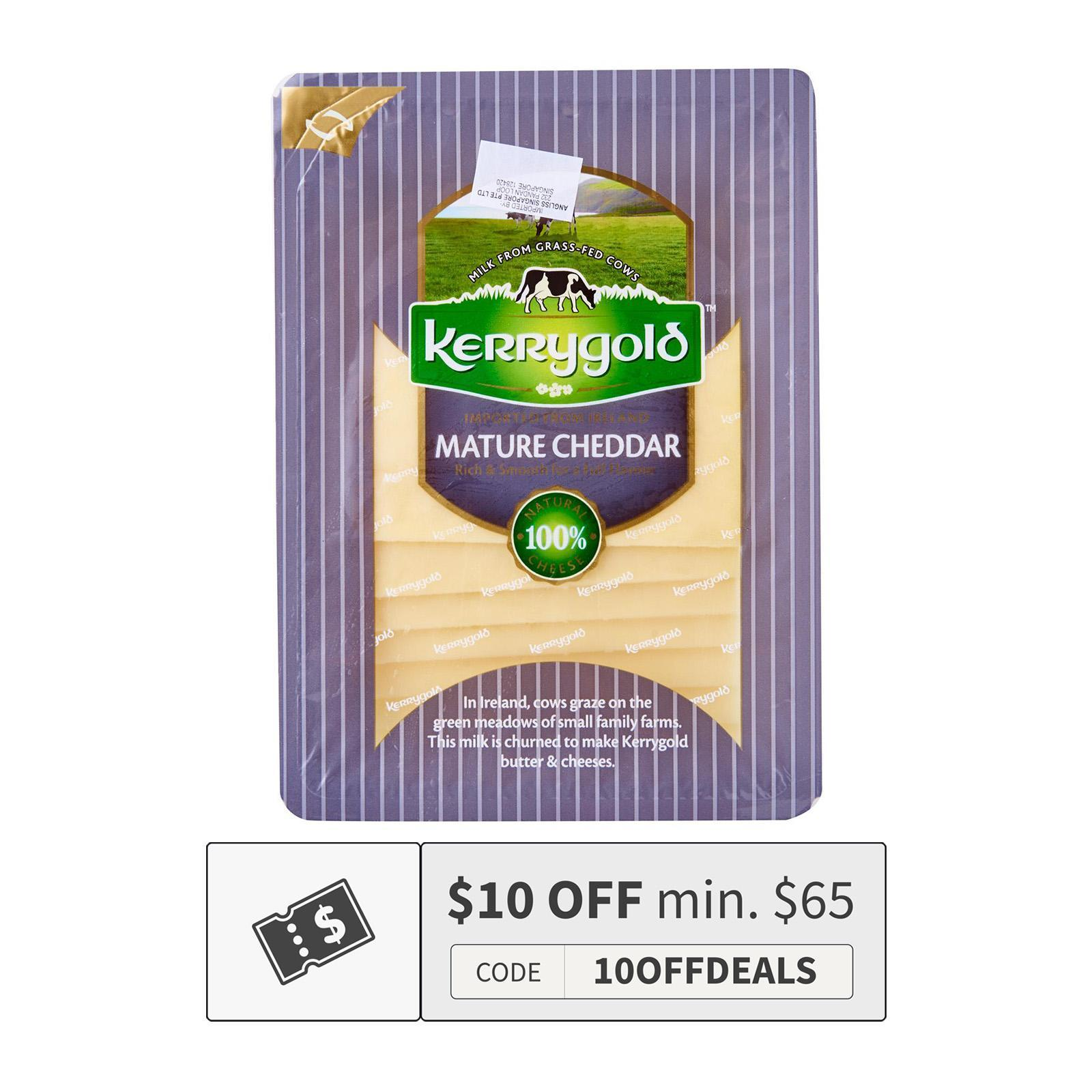 Kerrygold Mature Cheddar Natural Sliced Cheese