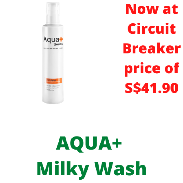 Buy Aqua+ | Skin Relief Milky Wash Singapore