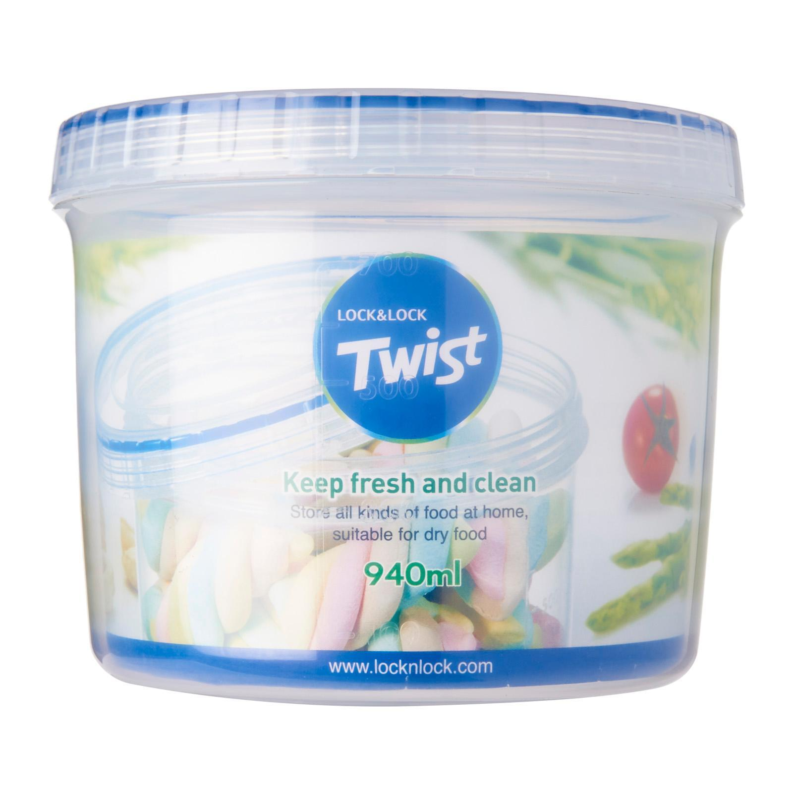 Lock and Lock Twist Container 940ML
