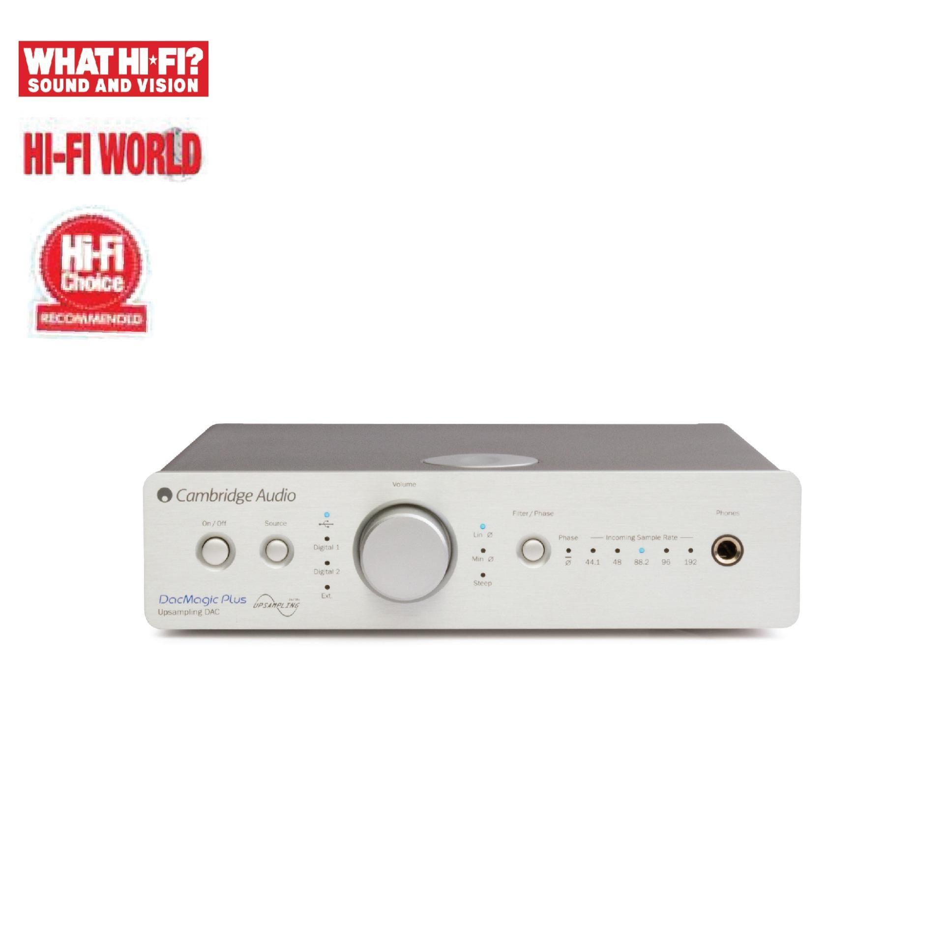 Cambridge Dacmagic Plus - Silver By Cambridge Audio Singapore.