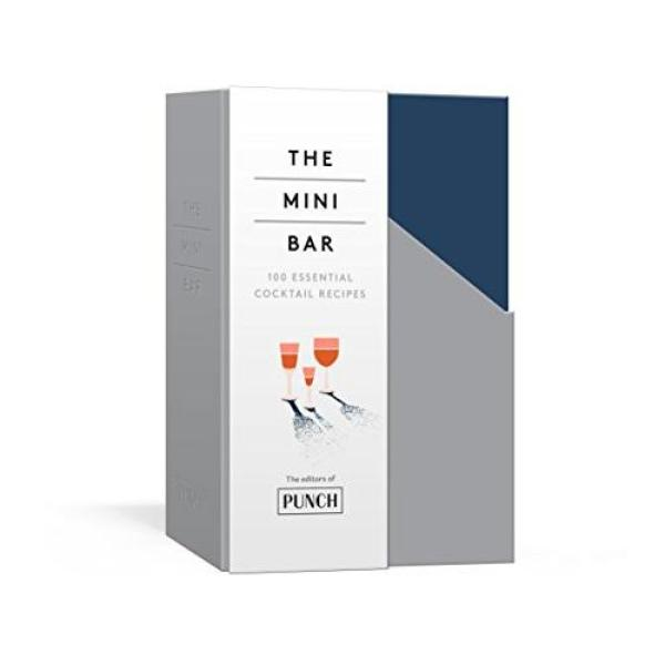 The Mini Bar: 100 Essential Cocktail Recipes; 8 Notebook Set - Paperback