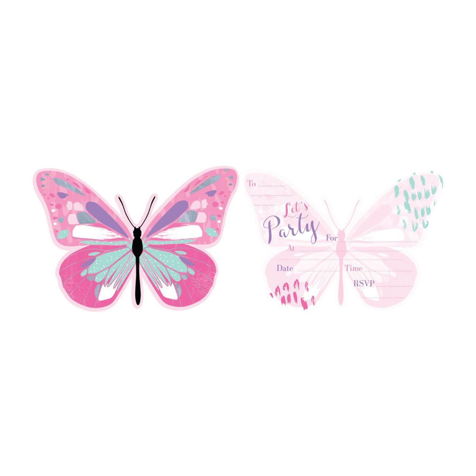 Artwrap Party Invitation - Butterfly