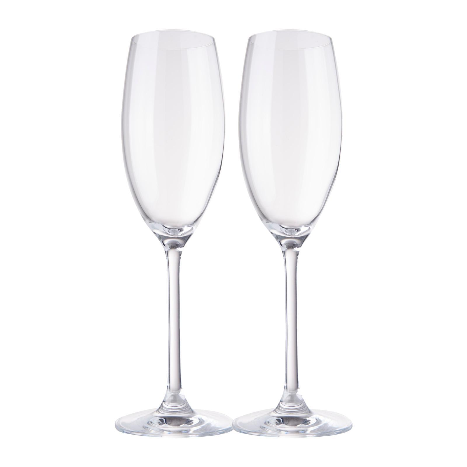 Plumm Crystal Wine Glasses - Vintage Sparkling (2 Glasses) - Le Vigne