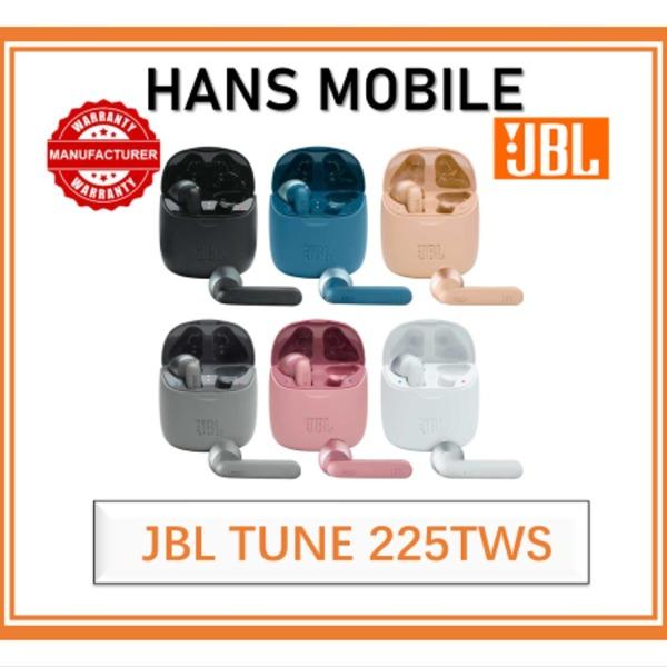 JBL TUNE 225TWS TRUE WIRELESS EARPHONE - HANS MOBILE - 1 YEAR JBL LOCAL OFFICIAL WARRANTY Singapore