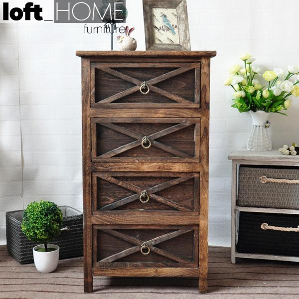 Chest of Drawer / Bed Sofa Side Table – Vintage