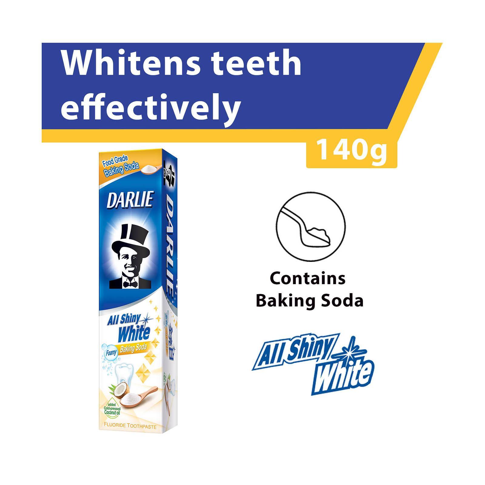 Darlie All Shiny White - Baking Soda Whitening Toothpaste