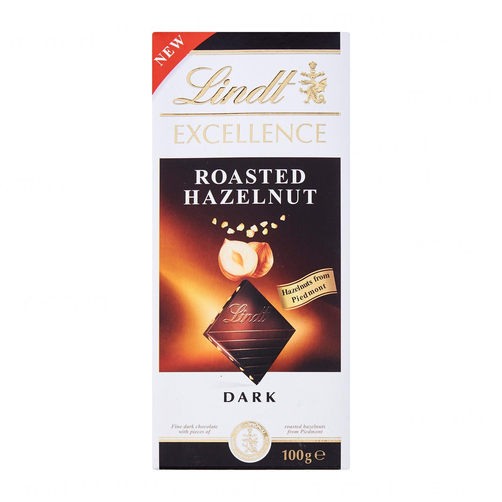 Lindt Excellence Roasted Hazelnut Dark Chocolate