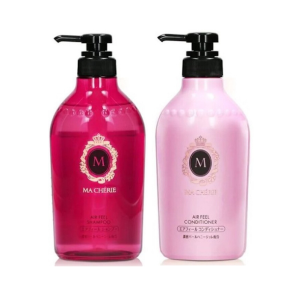 Buy SHISEIDO MA CHERIE (Bundle of 2) Shampoo + Conditioner 450ml [Air Feel] Singapore