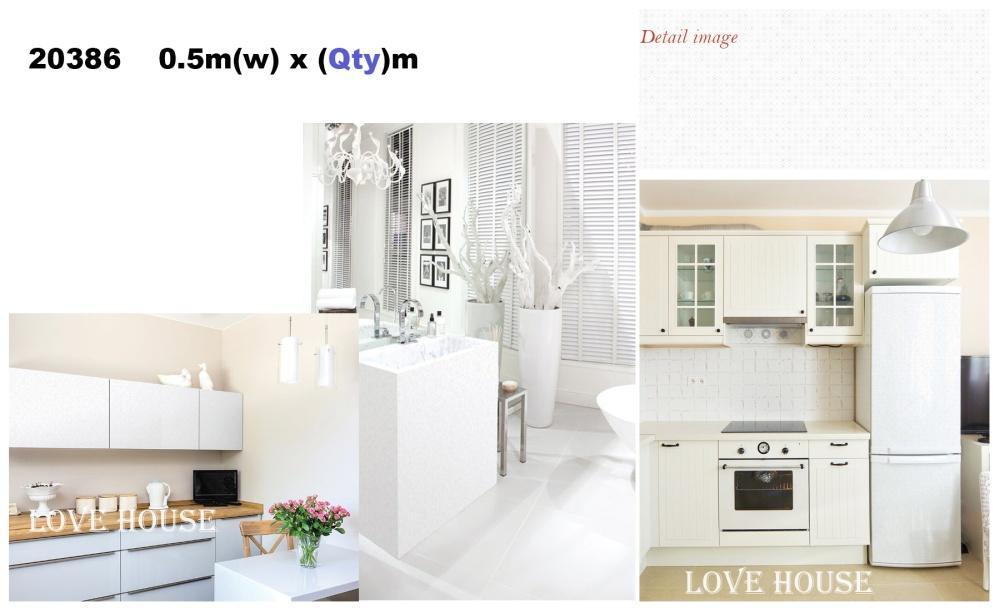 50cmx5m/roll 20386 Furniture Sticker Self Adhesive Wallpaper Decoration