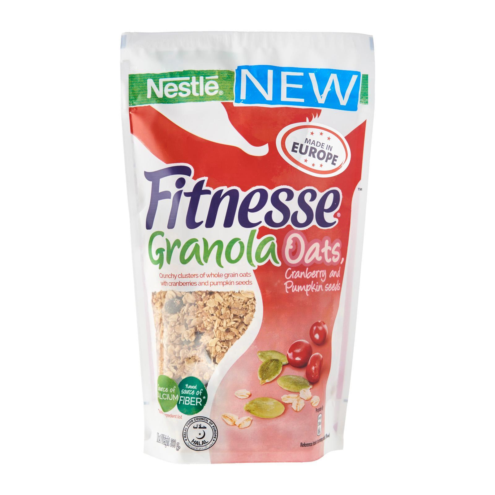 NESTLE Fitnesse Granola Oats, Cranberry & Pumpkin Seeds 300g