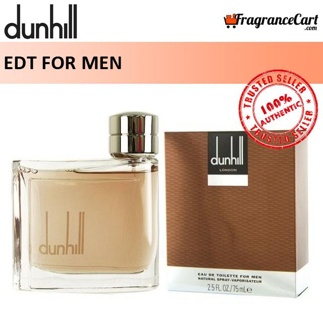 Dunhill Edt For Men (75ml) Alfred London Brown Classic Signature [brand New 100% Authentic Perfume/fragrance].