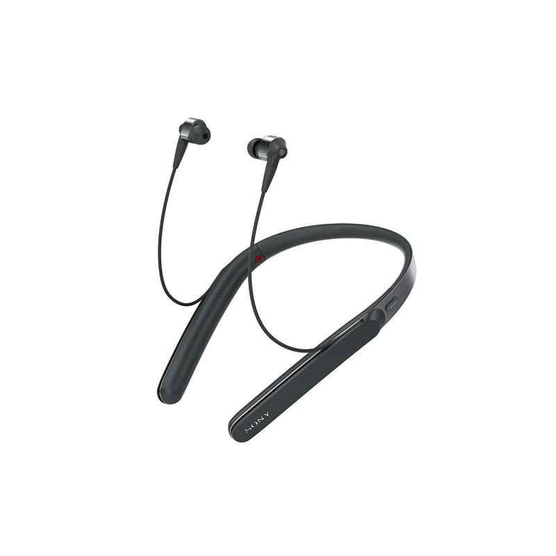 Sony Wi-1000X Wireless Noise Cancelling Neckband Earphones, Black Singapore