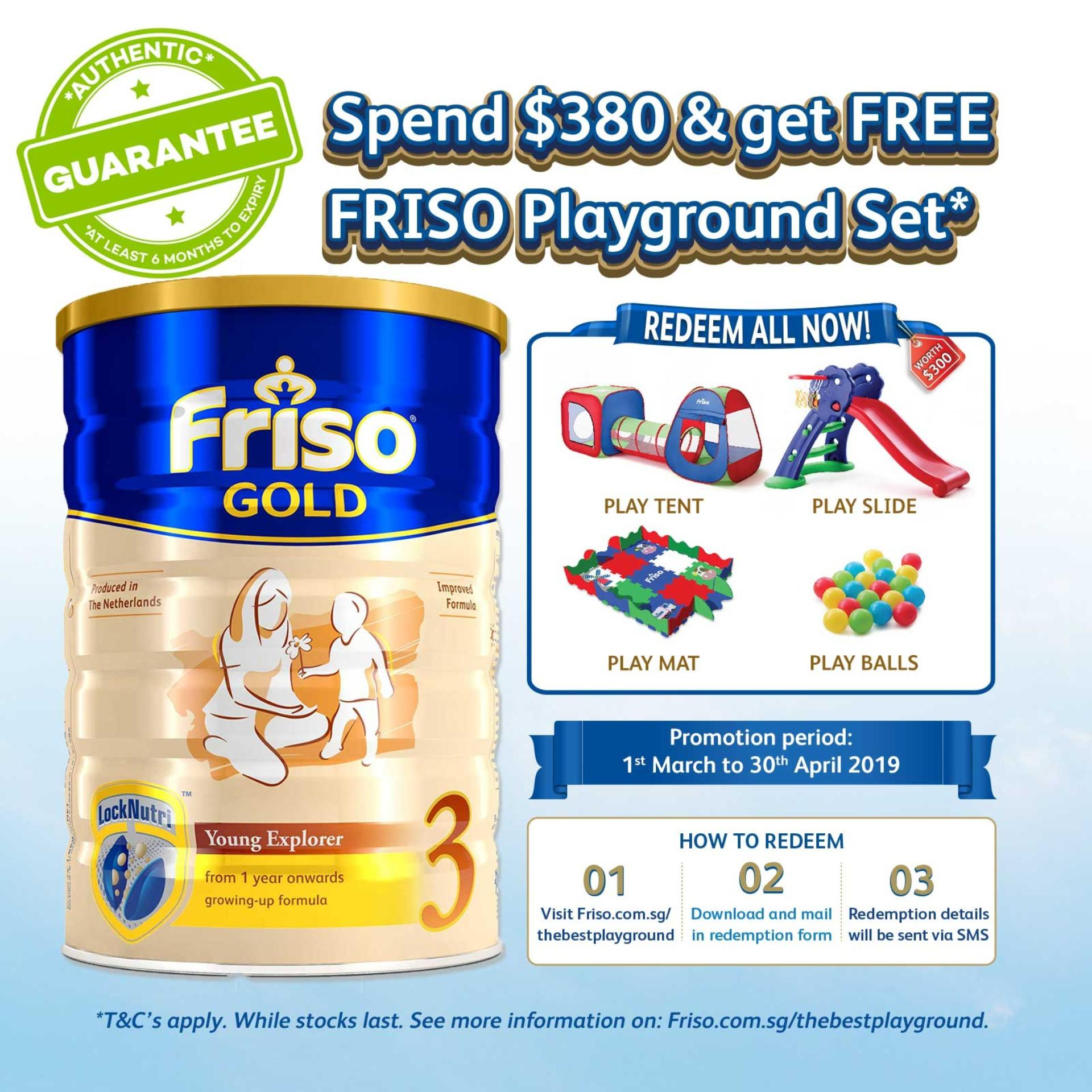 Friso Gold 3 Growing Up Milk 1.8kg By Lazada Retail Friso.