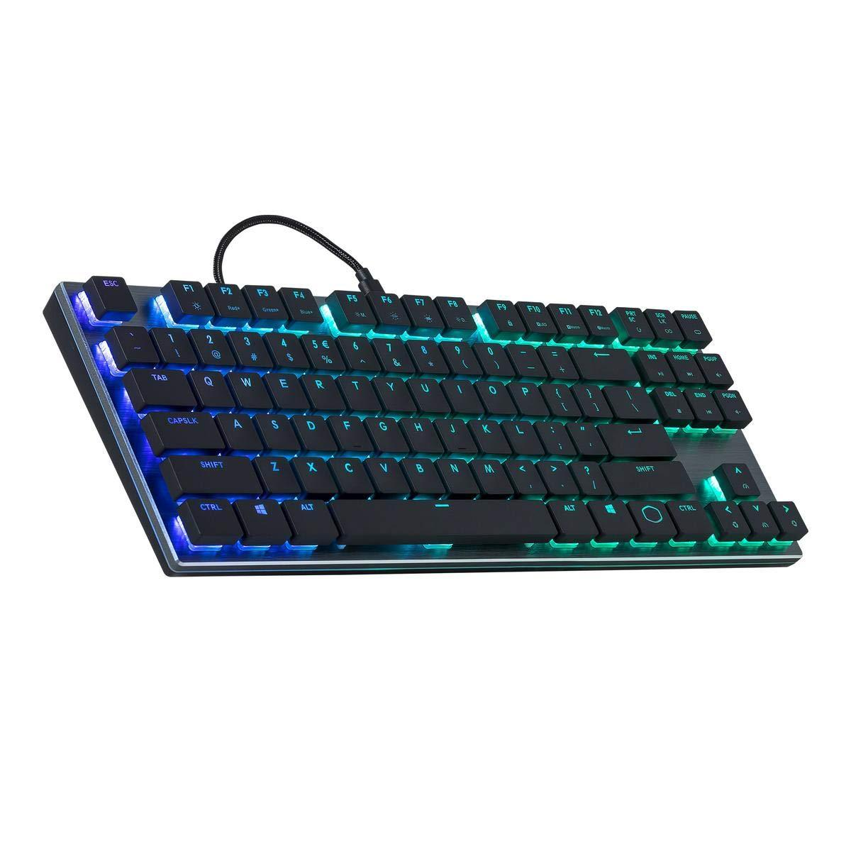 Cooler Master MK630 RGB TKL Mechanical Keyboard Cherry MX Low Profile Switch CoolerMaster Singapore