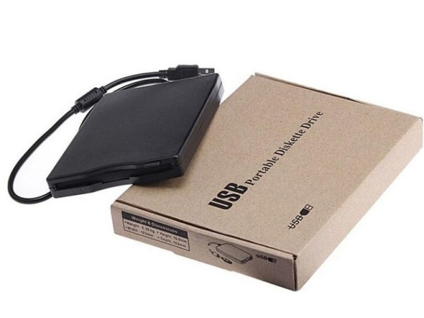 USB 2.0 External 1.44 MB 3.5 inch Floppy Disk Drive